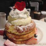素敵なブックカフェでふわもちパンケーキ♪@ビブリオテーク東京・有楽町
