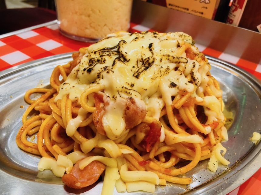 スパゲティのパンチョプレナ幕張